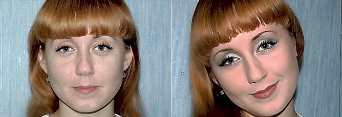 косметика мери кей до и после